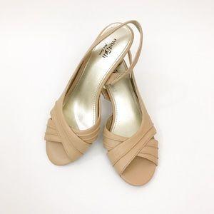 East 5th Flex Form Peep Toe Heel